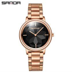 Đồng hồ Sanda nữ 1019 màu đen giá sỉ