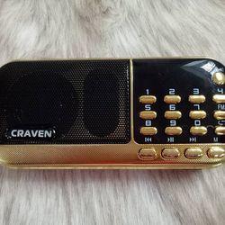 Đài FM Radio kiêm máy nghe nhạc Craven CR-836 giá sỉ