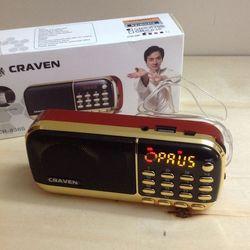Đài FM Radio kiêm máy nghe nhạc Craven CR-836 giá sỉ, giá bán buôn
