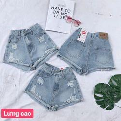 quần Short lưng siêu cao ảnh thật giá sỉ