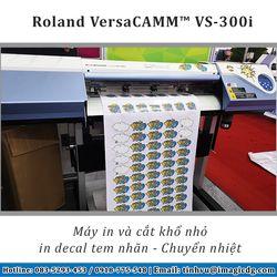 Máy in decal chuyển nhiệt Nhật Bản Roland VS-300i giá sỉ
