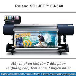 Máy in chuyển nhiệt Nhật Bản Roland EJ-640 giá sỉ