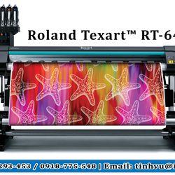 Máy in chuyển nhiệt Roland TexartRT-640 giá sỉ