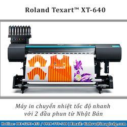 Máy in chuyển nhiệt Roland TexartXT-640 giá sỉ