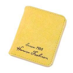 Giá Tốt Ví nữ mini da lộn In chữ Thời Trang D8293 giá sỉ