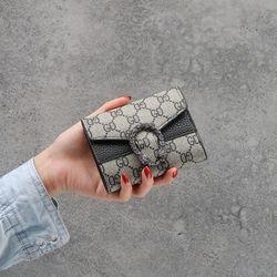 HOT Ví Nữ Mini Khóa Rồng Thời Thượng D8284 giá sỉ, giá bán buôn