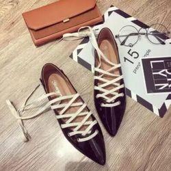 Giày bup bê Đan dây giá sỉ