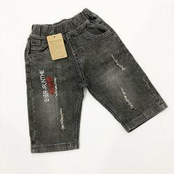 Quần jeans bé trai lửng xám size đại giá sỉ