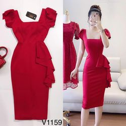 Đầm body thiết kế V1159