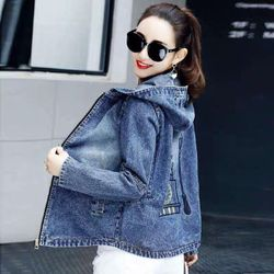 Áo khoác jean logo giá sỉ