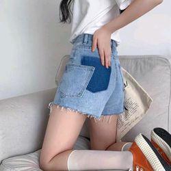 Quần short jean nữ thời trang giá sỉ