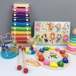 Set đồ chơi thông minh bằng gỗ 6 món giá sỉ