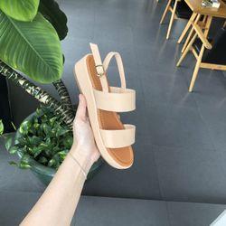 Sandal 3p bánh mì 2 quai ngang S3-03004 giá sỉ