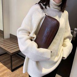 Túi xách nhỏ đeo vai vân cá sấu hàng cao cấp D673 giá sỉ, giá bán buôn