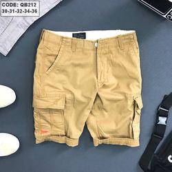 Quần short kaki Nam túi hộp size 30-36