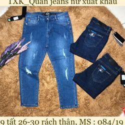 Quần jeans 9 tất nữ
