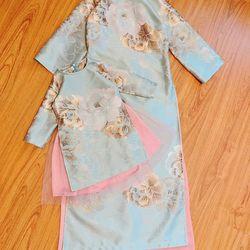 sỉ buôn áo dài cách tân cho bé cao cấp 12-35kg giá sỉ