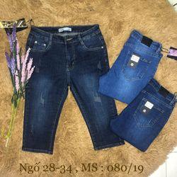 Quần jeans ngố 28-34 giá sỉ