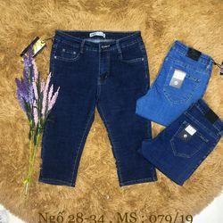 Quần jeans ngố 28-34 giá sỉ, giá bán buôn