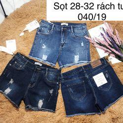 Quần jeans sọt nữ giá sỉ, giá bán buôn
