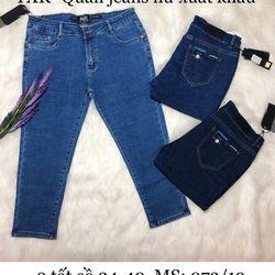 Quần jeans nữ 9 tất cồ 34-40 giá sỉ