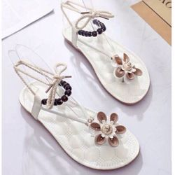 Giày sandal đế đúc hoa giá sỉ