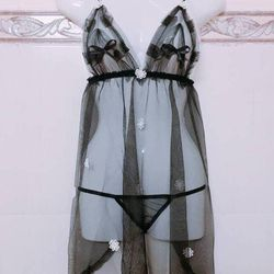 Đầm ngủ trong suốt mỏng manh đến mê mẩn nhiều màu giá sỉ, giá bán buôn