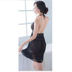 Váy ngủ hở lưng yêu kiều quyến rũ Freesize dưới 65Kg