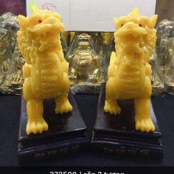 Tượng phong thuỷ hàng đẹp màu sắc vàng sữa cực sắc sảo Hàng có sẳn Sỉ 350k / 1 cặp 2 tượng giá sỉ