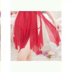 Đầm ngủ xẻ tà cuốn hút gợi cảm xuyên thấu giá sỉ, giá bán buôn