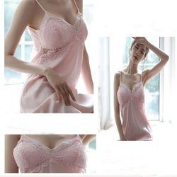 Váy ngủ 2 dây đệm ngực cực chất cực rẻ