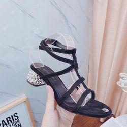Giày sandal gót xò giá sỉ