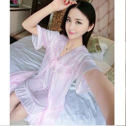 Váy thun kèm áo choàng cực xinh Freesize dưới 68Kg