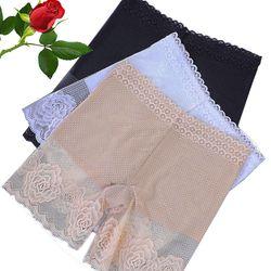 Quần mặc váy cotton phối hoa chất xịn
