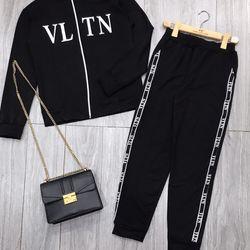 set bộ đồ nữ đẹp chất cá tính dễ thương giá rẻ thể thao kéo khóa VLTN BN 97899 giá sỉ, giá bán buôn