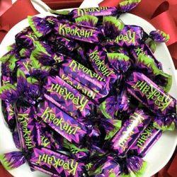 Kẹo tím Nga Krokant 500gr giá sỉ