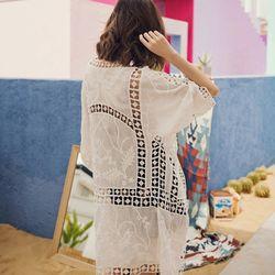 Áo khoác nữ Chiffon dáng dài giá sỉ, giá bán buôn