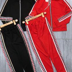 set bộ đồ nữ đẹp chất cá tính dễ thương giá rẻ thể thao mũ phối khóa GG BN 211189 giá sỉ, giá bán buôn