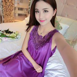 Đầm nữ sát nách phi lụa cực xinh giá sỉ, giá bán buôn