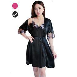 Set áo choàng ngủ kèm váy 2 dây cực xinh cực gợi cảm giá sỉ, giá bán buôn