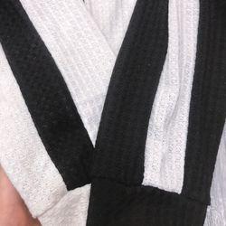set bộ đồ nữ đẹp chất cá tính dễ thương giá rẻ áo len quần phối sọc BN 47669 giá sỉ, giá bán buôn