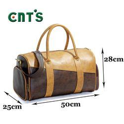 Túi trống du lịch cỡ lớn Unisex CNT TX30 nâu giá sỉ, giá bán buôn