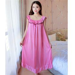 Đầm ngủ dáng suông Free size dưới 80kg giá sỉ