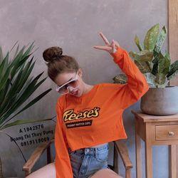Áo croptop tay dài hot teen giá sỉ