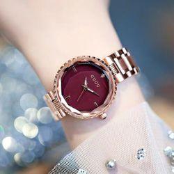 Đồng hồ nữ GUOU 6014 dây kim loại