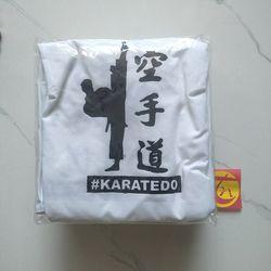 áo thun karatedo trắng đẹp