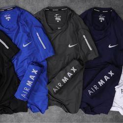 Áo thun nam thể thao thun poly logo phản quang giá sỉ
