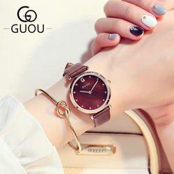 Đồng hồ nữ GUOU 8187 giá sỉ