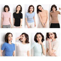 Áo len dệt kim nhiều màu AN68 giá sỉ