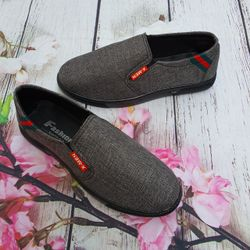 Giày Lười Vải Nam Lịch Lãm Chất Siêu Êm giá sỉ